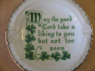 Shamrock Ashtray #1